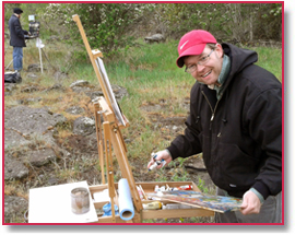 Idaho Art Lab's Plein Air Painters: St. Anthony, Idaho