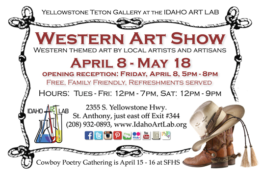 Western Art Show at the Yellowstone Teton Gallery