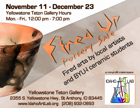 Fired Up Pottery Show & Sale