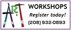 Art Workshops in St. Anthony, Idaho
